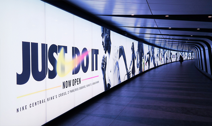 Continuous Nike Graphic London