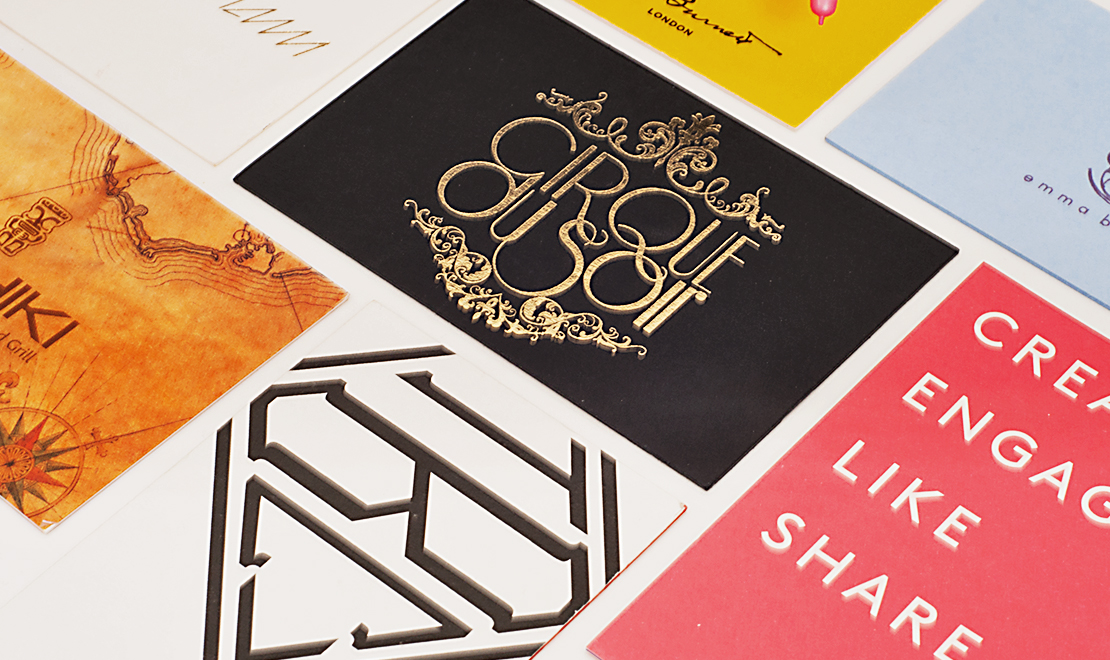 luxury business cards  concept foundry  creative