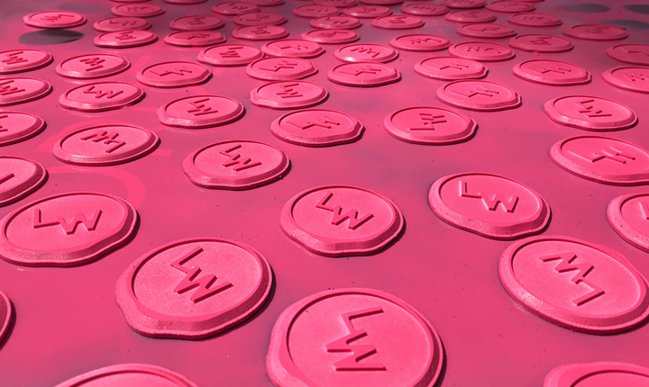Concept Foundry foamex replica of a wax seal stamps