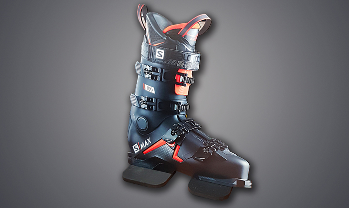 Salomon Ski Boot Large Format Printed