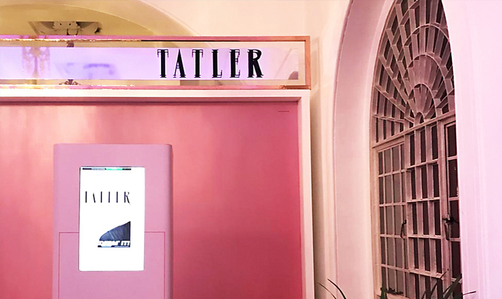 Tatler Magazine Signage Custom-made