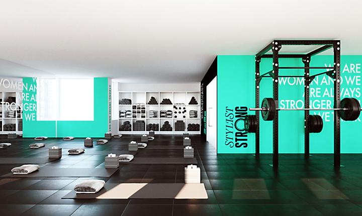 Stylist Magazine Womens Gym